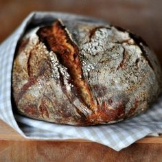 Italian Rustic Sourdough Loaf with Kamut