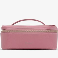 """69455cc9930cc7 Ruby Tuesday Accessories on Instagram: """"This new #VEGAN vanity/jewellery  case by Matt & Nat has a metal zip closure and top handle which makes it  perfect ..."""