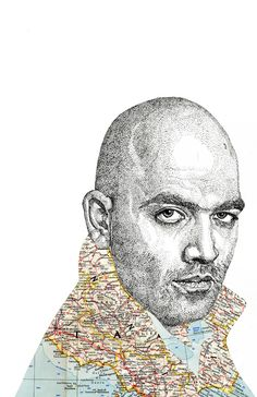 """saviano Stunning map art """"people & places"""" from Jacob Everett www.jacobeverett.com Map Art, Maps, Study, Places, People, Design, Studio, Investigations, Map"""