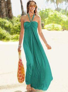 maxi bra top dress- victoria's secret