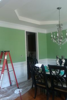 1000 images about dining room paint on pinterest dining - Green dining room paint colors ...