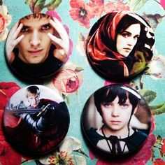 BBC SYFY Merlin Pinback Button Set of 4 Badges by GeekFreakSupply, $6.00