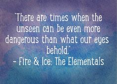 """Fire & Ice ~ """"When you discover your Gift, you discover your destiny."""" ~ A book series by teen author Erin Forbes Find out more on fireandicebookseries.com"""