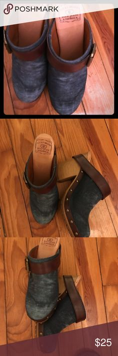 Lucky Brand Jean Mules Lucky Brand jean Mules Lucky Brand Shoes Mules & Clogs
