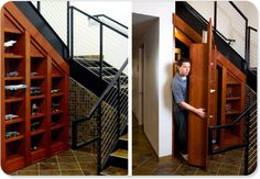 """""""If you are considering an alternate supplier for your bookcase secret door, check to see if it has a load rating."""""""
