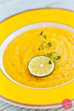 Krem z kalafiora - pyszna i prosta do zrobienia zupa kalafiorowa.  http://dorota.in/krem-z-kalafiora/  #food #kuchnia #przepis #recipe #kalafior #cauliflower