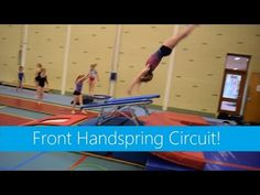 Skills & Drills: Preparations for front handspring! - YouTube