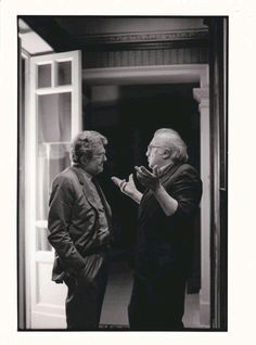 Ettore Scola & Federico Fellini
