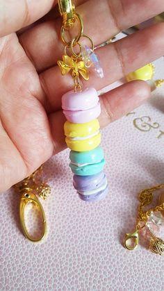 Pastel Macaron Set Macaron Stack Macaron Tower by milkysodashop