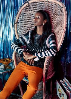 visual optimism; fashion editorials, shows, campaigns & more!: nadine martin and senait gidey by haifa wohlers olsen for sunday times style!
