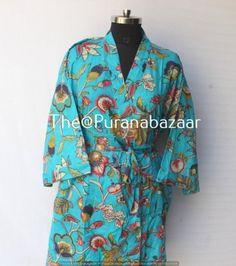 Vintage Kimono, Vintage Coat, Kimono Jacket, Kimono Style, Kimono Dressing Gown, Cotton Kimono, Kimono Fashion, Women's Fashion, Bridesmaids