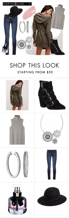 """""""Everyone Wears Rock 47 Diamante Necklace...3"""" by montanasilversmiths on Polyvore featuring Free People, Rebecca Minkoff, The Row, DL1961 Premium Denim, Yves Saint Laurent, Hinge, Jane Iredale, Fall and rock47wrangler"""
