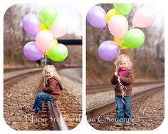 .: Cheyennes 3rd Birthday Photoshoot