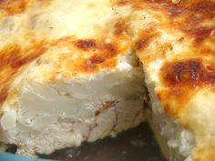 Tepsis csirkemell recept karfiollal recept lépés 7 foto Mashed Potatoes, Food And Drink, Turkey, Cheese, Meat, Chicken, Breakfast, Ethnic Recipes, Blog
