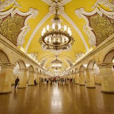 Russia.  Moscow's Metro Station // © Merina Tjen - Lim Pure Photo