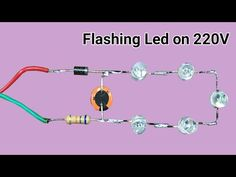 Hello friends, today in this video i have shown how to make simple led flasher on But only drawback of this circuit is it's not isolated from the High . Power Supply Circuit, I Can Do It, Led, Circuits, Craft Stick Crafts, Arduino, Cool Stuff, Youtube, Ideas