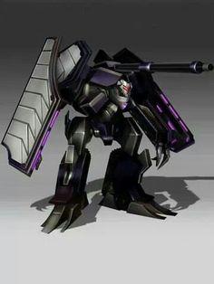 Transformers Prime Tank Vehicon