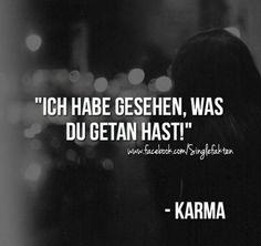 ich glaub an gott nicht an karma