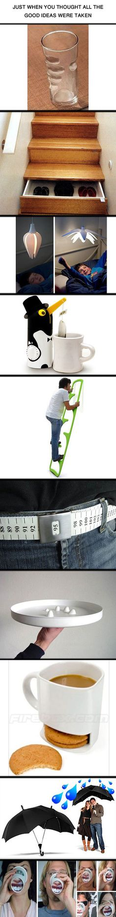 Just some clever ideas that are creative and borderline genius. SHUT UP AND TAKE MY MONEY!