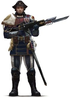 Warhammer 40k An Imperial Guardsman of the Scintillan Fusiliers