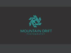 Mountain Drift Photography Logo #logo #design #inspiration