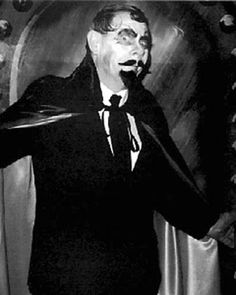 Detroit TV Horror Movie Host Sir Graves Ghastly Glossy 8X10 #1
