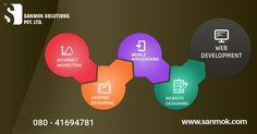 Web Designing, Customized Ecommerce Websites, Mobile Application Development,Digital Marketing all @ sanmok.com
