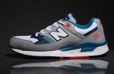 New Balance 530: Grey/White/Blue