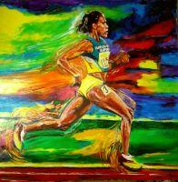 Salvador Medina, Artist - My Gallery - Cathy Freeman