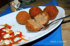 Miel o Limón: Croquetas de rabo de toro http://mielolimon.blogspot.com.es/2014/03/croquetas-de-rabo-de-toro.html