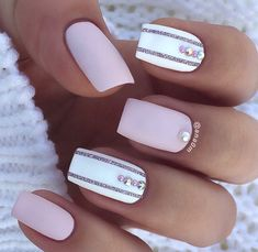 In seek out some nail designs and ideas for your nails? Here's our list of 28 must-try coffin acrylic nails for trendy women. Gorgeous Nails, Love Nails, How To Do Nails, My Nails, Matte Nails, Pink Manicure, Manicure Ideas, Square Acrylic Nails, Happy Nails
