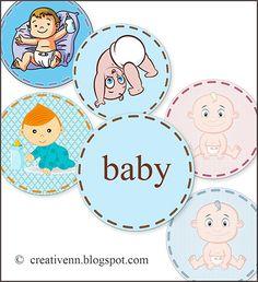Scrapbooking babies. Картинки для скрапбукинга. Скрапбукинг детские для…