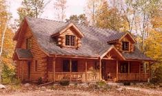 Maplecreek Floor Plan by Expedition Log Homes