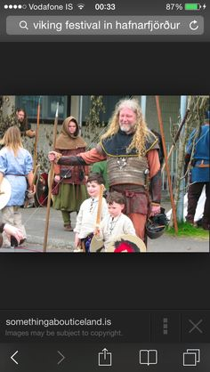 Viking and a baby