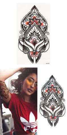 Sincere Fanrui Dream Catcher Rattan Mandala Flower Temporary Tattoos For Women Sticker Black Henna Fake Tattoo Body Art Custom Tatoos Tattoo & Body Art Temporary Tattoos