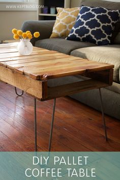I love DIY projects that involve turning something deemed unusable into something gorgeous and functional. This pallet coffee table has to be my favorite transformation to date. I have been wanting…