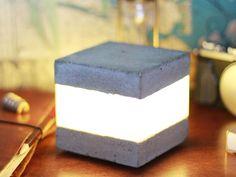 DIY Concrete LED Light Cube