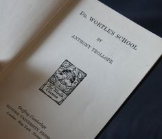 Dr. Wortle's School by Anthony Trollope (1881).