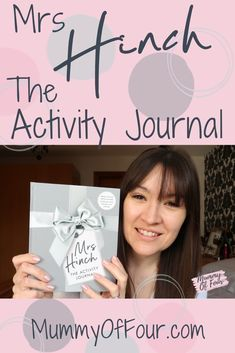 The Mrs Hinch Activity Journal is now officially available to buy. Wondering whether to purchase one and wonder what it's like? Baby Hacks, Baby Tips, Happy Minds, Latest Books, Gifts For Mum, New Moms, Parenting Hacks, Improve Yourself, Have Fun