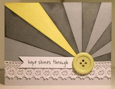 Hope Shines Through by lavenderstars - Cards and Paper Crafts at Splitcoaststampers
