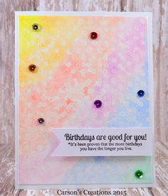 Carson's Creations: Watercolor Weekend