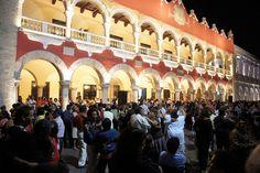 Zocalo, Merida, Yucatan, Mexico
