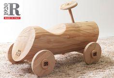 R313 wooden children walker car by Riva 1920