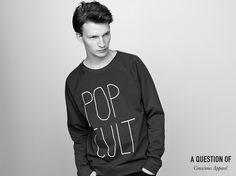A QUESTION OF Pop Cult Sweatshirt #aquestionof #organiccotton #danielduring