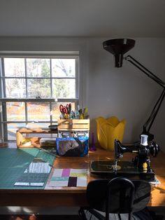 Quilting Room, Office Desk, Corner Desk, Furniture, Home Decor, Corner Table, Desk Office, Decoration Home, Desk