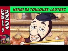 Art with Mati and Dada – Henri de Toulouse-Lautrec | Kids Animated Short Stories in English - YouTube