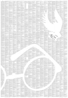 Harry Potter and the Philosopher's Stone- the entire book on one poster.