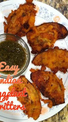 indian eggplant fritters 2