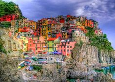 One of the most colorful cities in the world: Riomaggiore, Italy