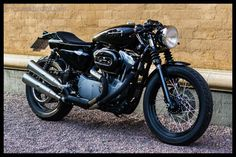 Racing Cafè: Harley Nightster Cafè Racer by Re-Cycles Bikes Rewheeled AB
